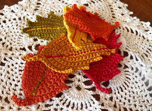 Quick and Cool Crochet Leaves