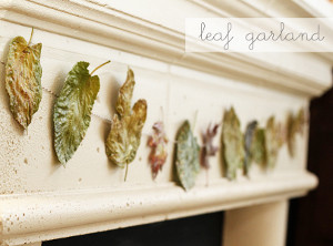 Very Vintage Leaf Garland