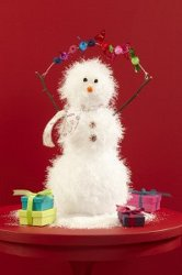 24 Easy Art Ideas to Make a Snowman