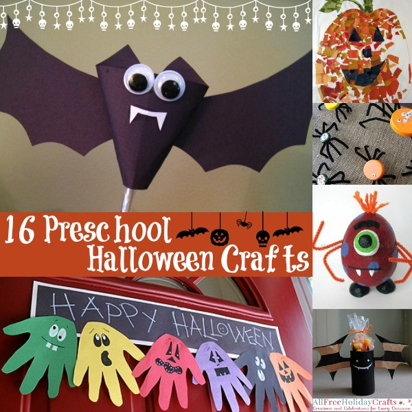 16 Preschool Halloween Crafts Allfreeholidaycrafts Com