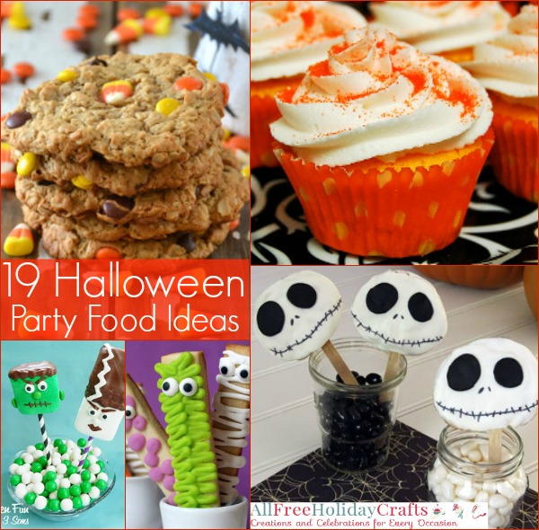 19 Halloween Party Food Ideas | AllFreeHolidayCrafts.com