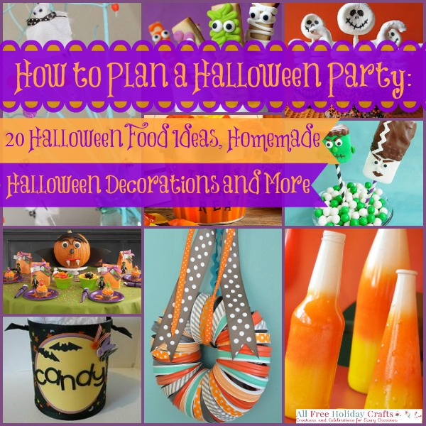 how to plan a halloween party 20 halloween food ideas homemade