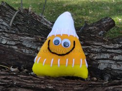 Kid Friendly Candy Corn Softie