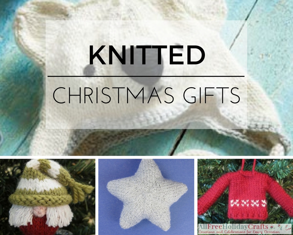 Knit Homemade Gift Ideas