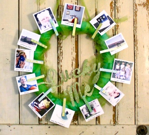 Lucky Me Photo Wreath