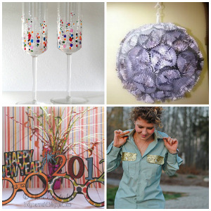 Crafty New Year Wishes: 20 New Year's Eve Ideas