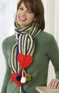 No Name Valentine Scarf
