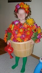 No-Sew Flower Pot Costume