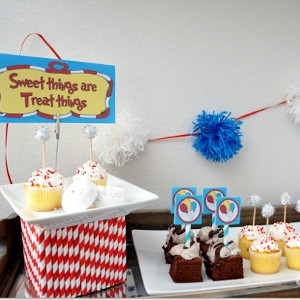 Dr. Seuss Inspired Party Printables