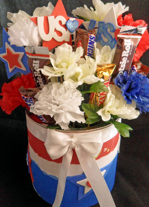 Patriotic Flower Centerpieces