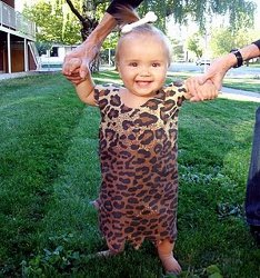 Pebbles Flintstone Baby Costume