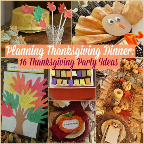 16 Thanksgiving Party Ideas