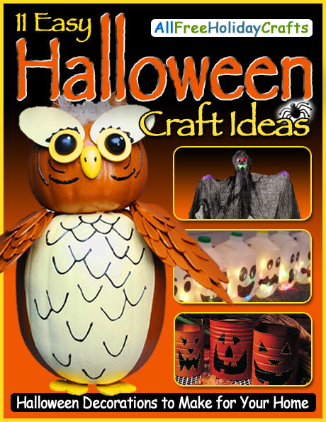 11 easy halloween craft ideas