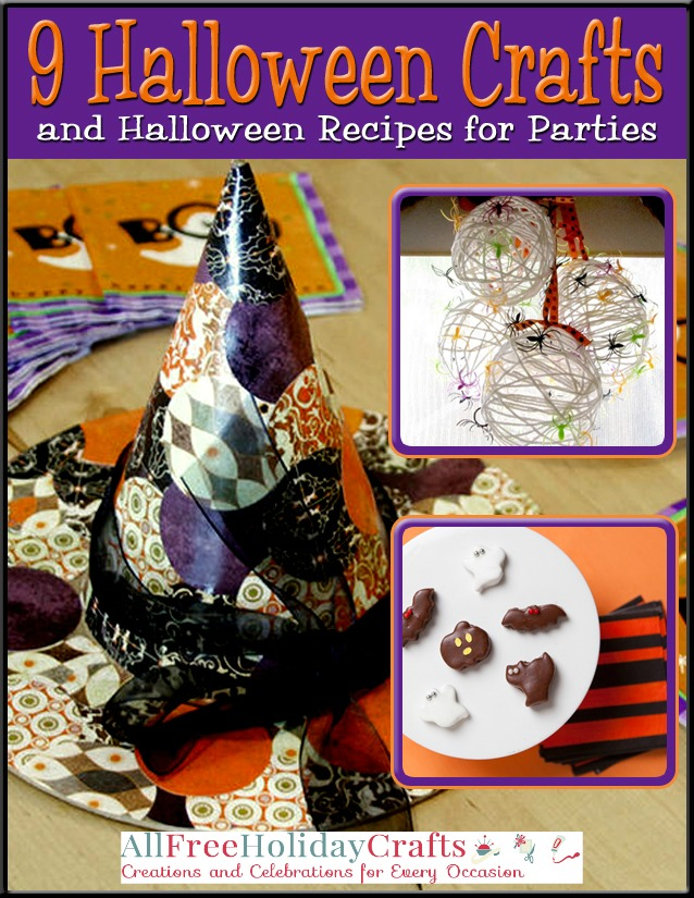 Halloween Crafts and Halloween Recipes for Parties