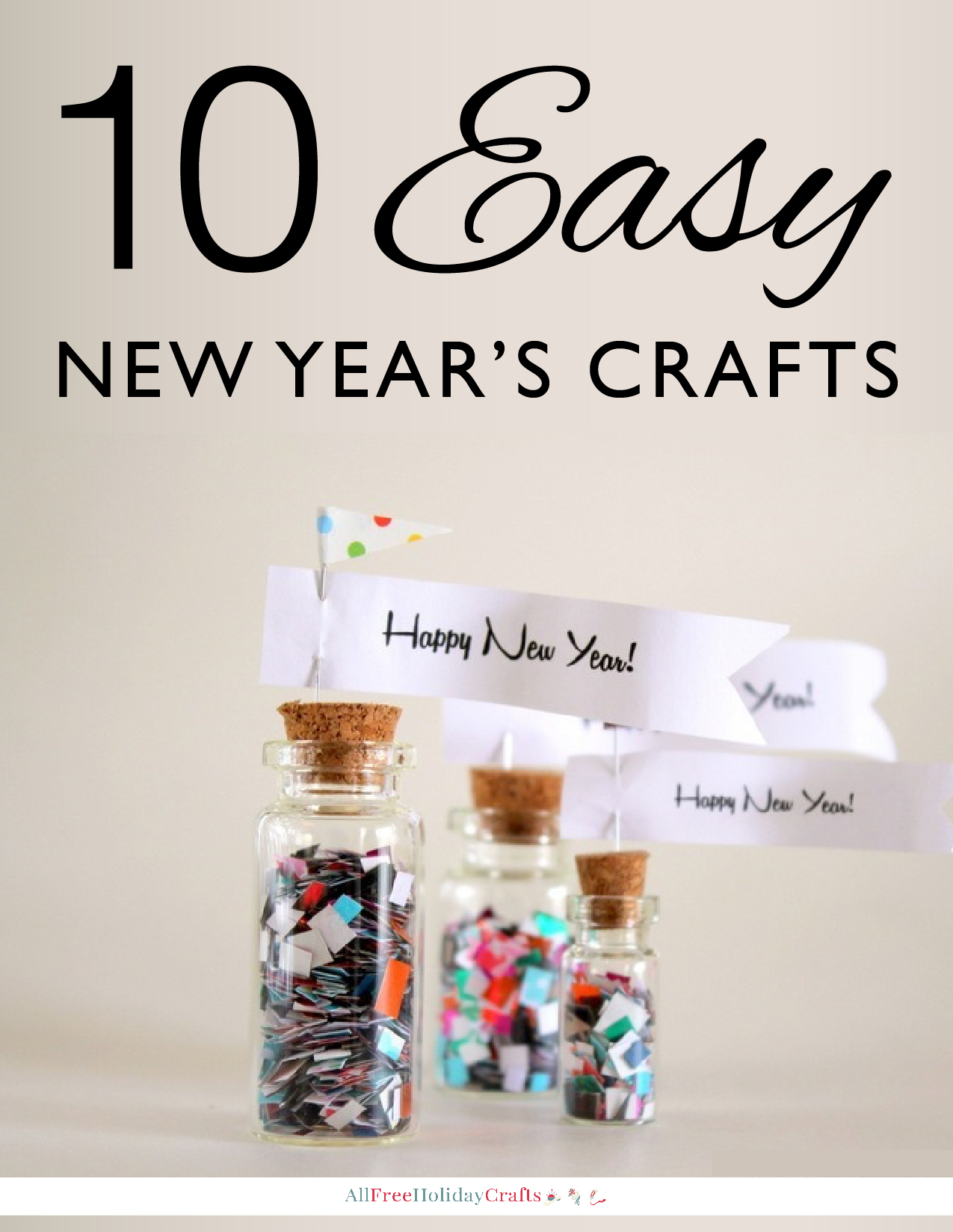 10 Easy New Year's Crafts