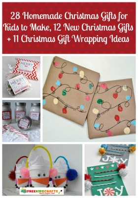 28 Homemade Christmas Gifts For Kids To Make 12 New