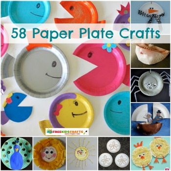58 Paper Plate Crafts