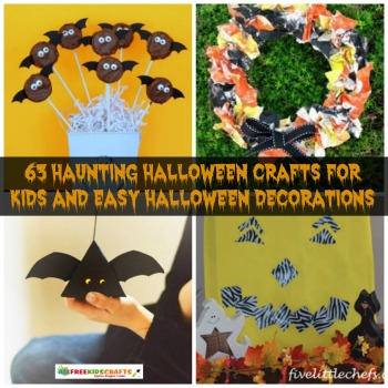 63 Haunting Halloween Crafts For Kids And Easy Halloween