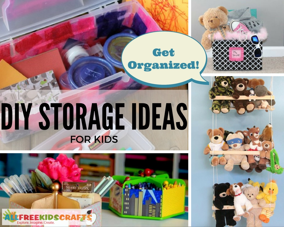 Get Organized with 30 DIY Storage Ideas