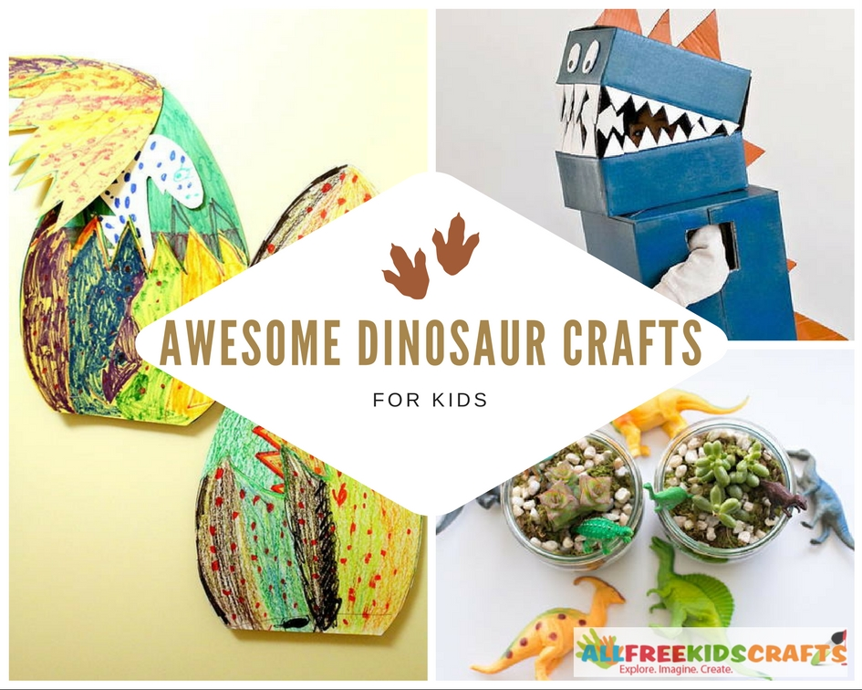Awesome Dinosaur Crafts for Kids