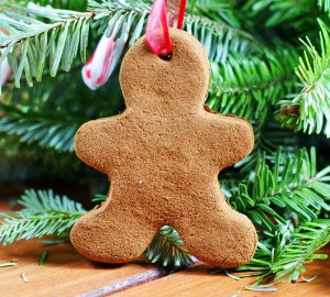 Cinnamon Gingerbread Men Ornaments