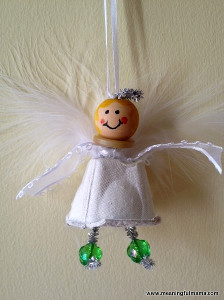 Cute Egg Carton Angel