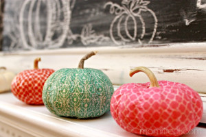 Fabulous Washi Tape Pumpkin