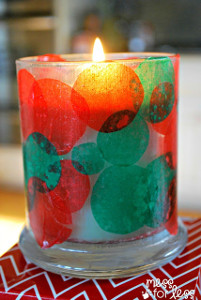 Festive Christmas Candle Holder