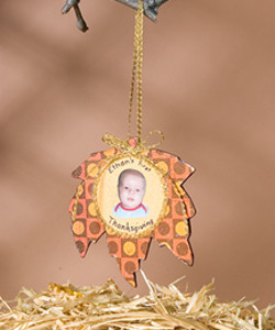 First Thanksgiving Ornament