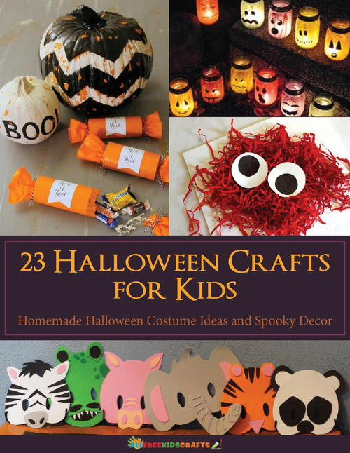 23 Halloween Crafts for Kids eBook