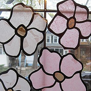 Stained Glass Magnolias