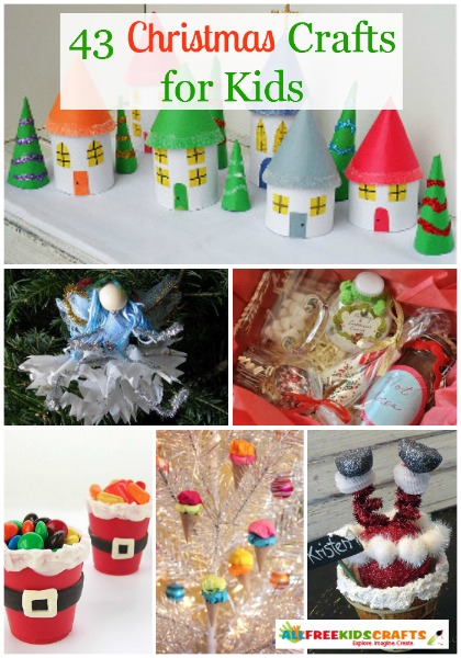 43 Christmas Crafts for Kids