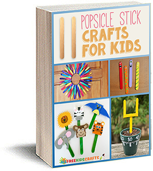 11 Popsicle Stick Crafts for Kids eBook