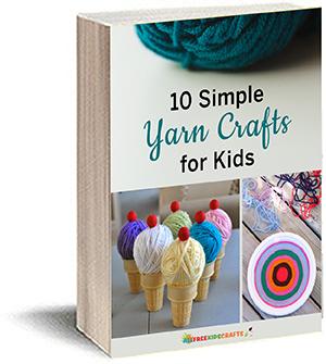 Latest free kids craft ebooks allfreekidscrafts 10 simple yarn crafts for kids ebook fandeluxe Choice Image