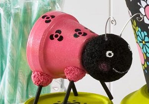SuperSuper Sweet Clay Pot Lady Bug