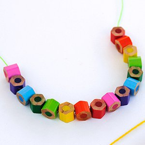 Colored Pencil Beaded Jewelry