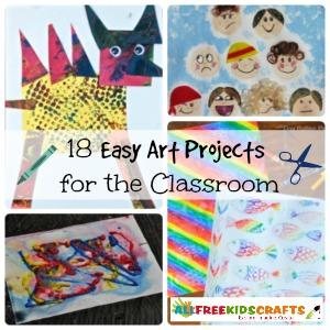 18 Easy Art Projects for the Classroom