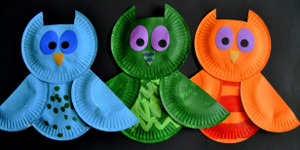 : kids crafts with paper plates - pezcame.com