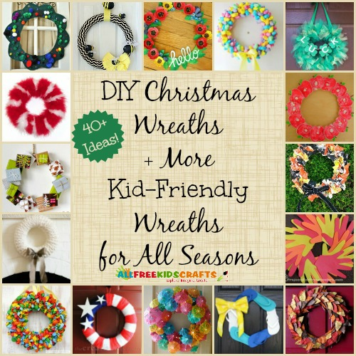 How to Make a Wreath: 7 DIY Christmas Wreaths + 40 More ...
