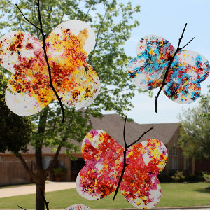 Little Hands Butterfly Suncatcher