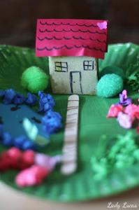 Paper Plate Garden Allfreekidscrafts Com