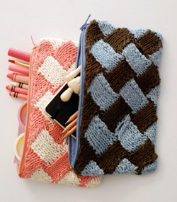 Free Knitting Pattern Gift Bag :