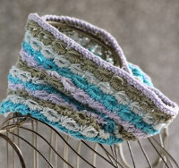 Striped Anemone Cowl