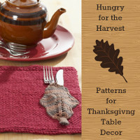 Hungry for the Harvest: 20 Patterns for Thanksgiving Table Decor