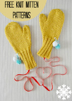 16 Free Knit Mitten Patterns