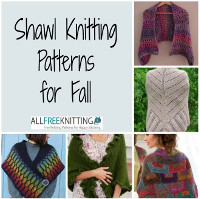 19 Shawl Knitting Patterns for Fall