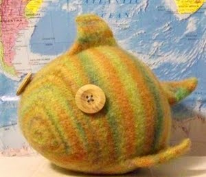 Cute Knitted Fish