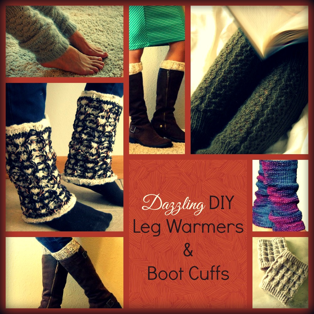16 Dazzling DIY Leg Warmers and Boot Cuffs | AllFreeKnitting.com