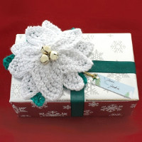 Poinsettia Gift Topper