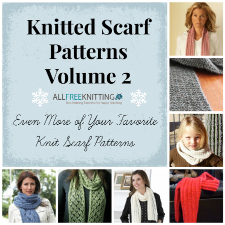 Knitted Scarf Patterns Volume 2